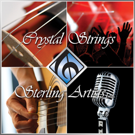 Crystal Strings and Sterling Artists