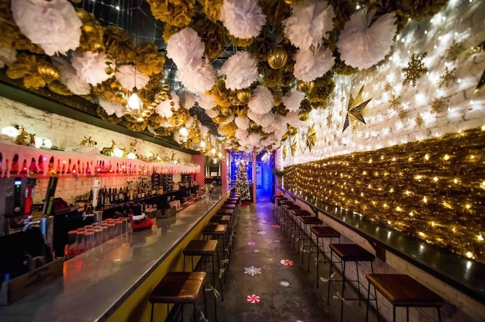 """DC's """"Pop-Up Christmas Bar"""" is the Most Festive Way to Drink This Season"""