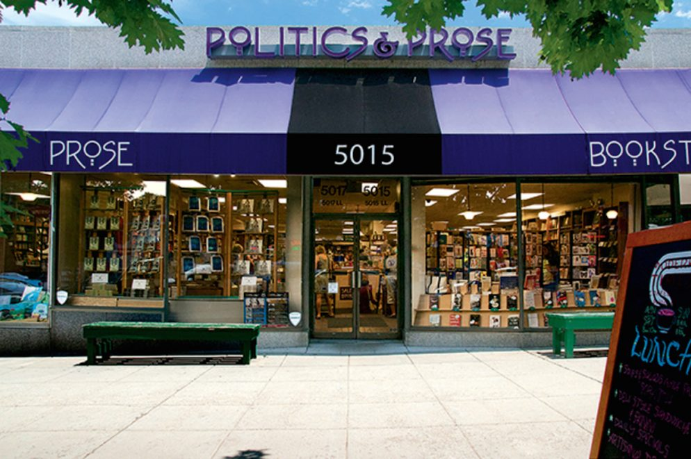 Map: A Guide to Independent Bookstores in DC