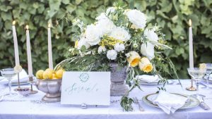 Rustic and Yellow Vineyard Wedding Inspiration at Maryland's Rocklands Farm