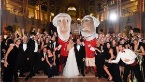 The Racing Presidents Made an Appearance at This Glam Downtown DC Wedding