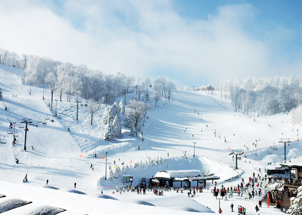 Photograph courtesy of Seven Springs Mountain Resort.