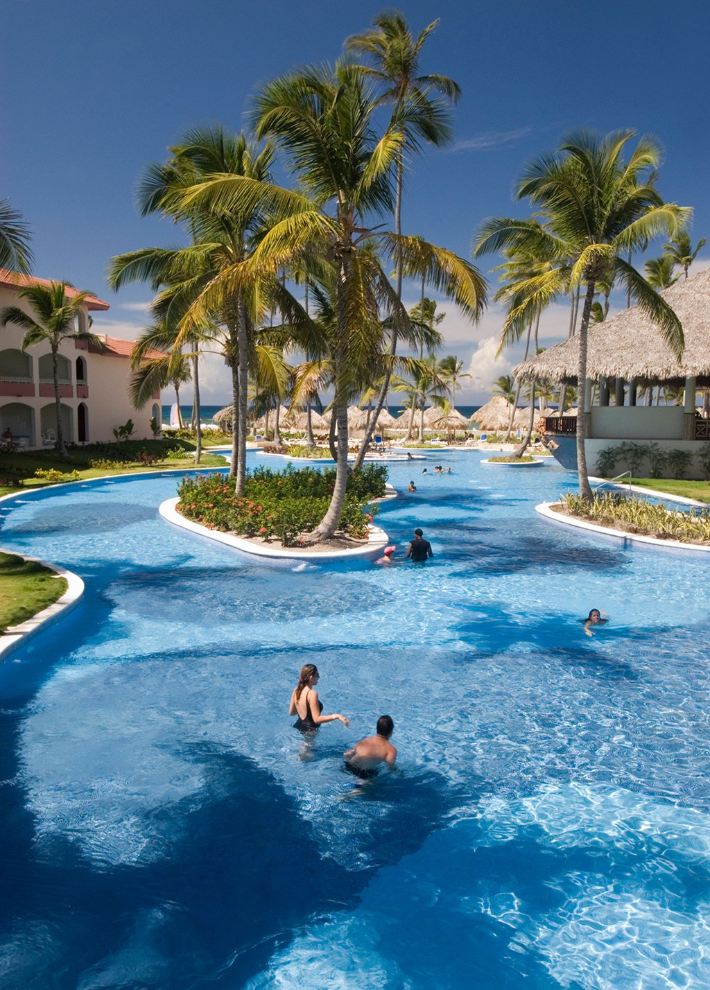 Punta Cana's family-friendly Majestic Colonial hotel. Photograph by by Ellen McKnight/Alamy.