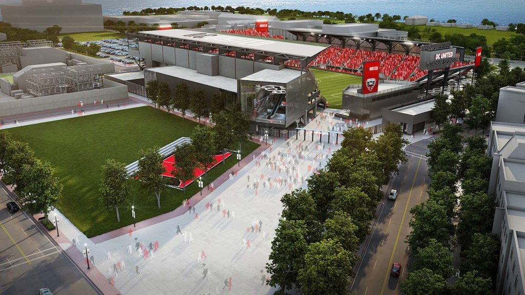 DC United Releases More Renderings of New Stadium