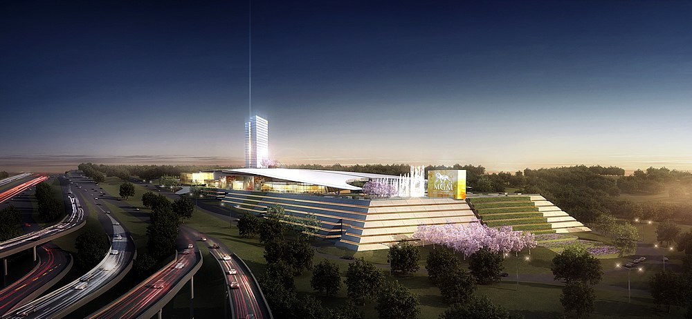 """MGM Says Its National Harbor Resort Will """"Blow Away"""" Donald Trump's DC Hotel"""