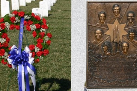 Arlington National Cemetery Has a Memorial to the Space Shuttle Challenger