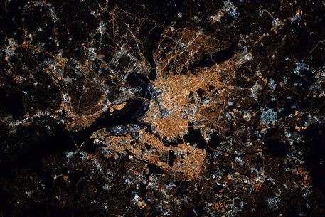 This Is What Washington Looks Like From the International Space Station