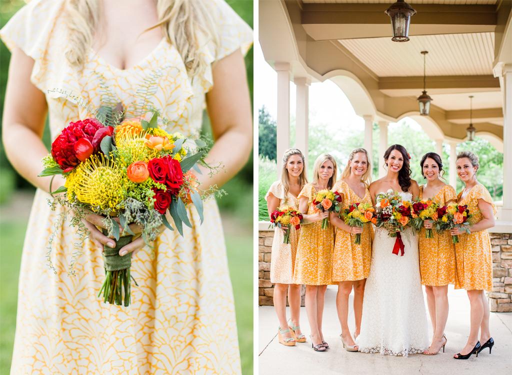 Rustic yellow wedding at virginias clydes at willow creek farm 1 11 16 yellow rustic bluegrass virginia wedding junglespirit Choice Image
