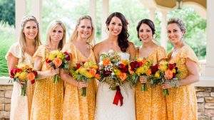 Rustic Yellow Wedding at Virginia's Clyde's at Willow Creek Farm