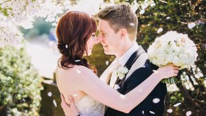 Music Lovers MUST See This Modern Pink and Black DC Wedding