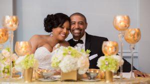 Classic Ivory and Gold Wedding at Washington Plaza Hotel