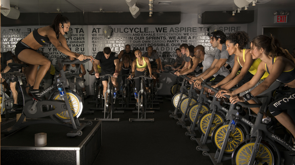 Photograph courtesy SoulCycle.