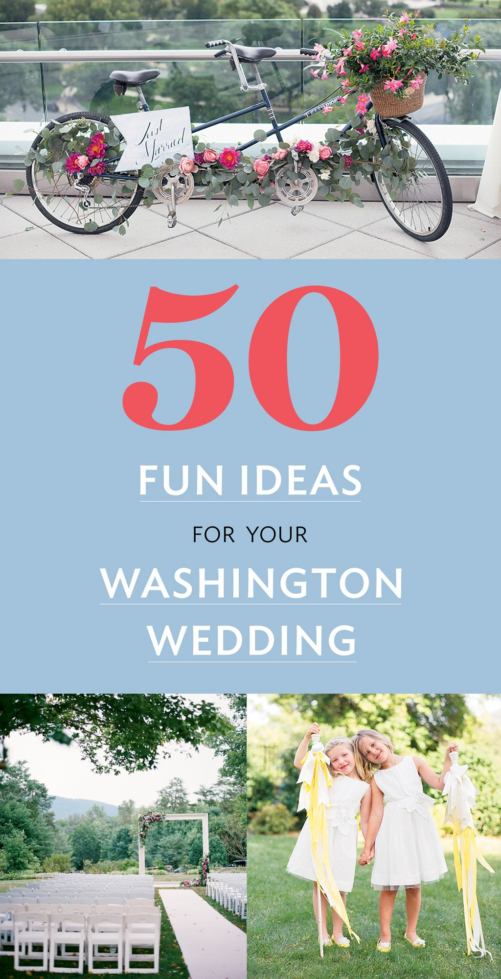 50 Clever Ideas To Make Your Wedding Stand Out Washingtonian Dc