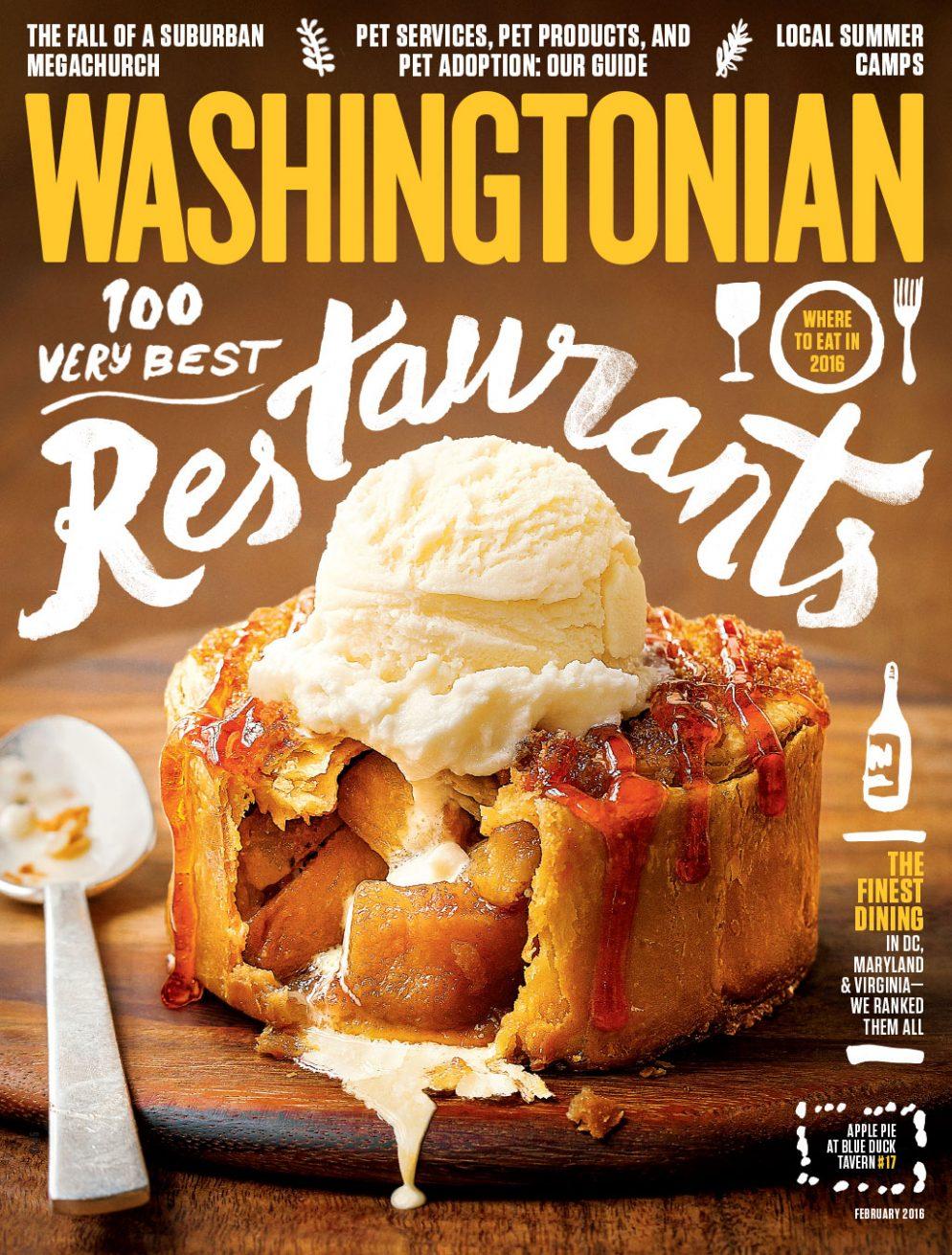 February 2016: 100 Very Best Restaurants