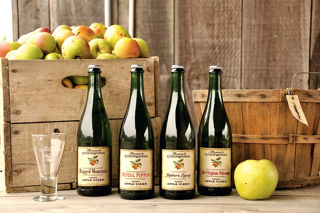 Photograph courtesy of Albemarle CiderWorks.