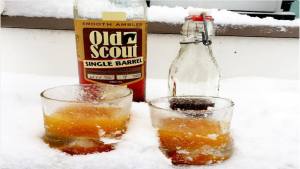 This Snow-Bourbon Cocktail is Pure Winter Genius