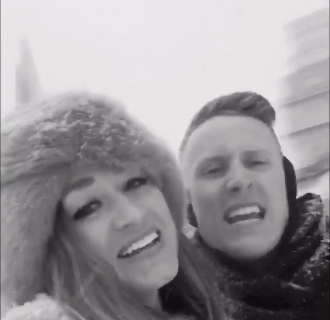 """These Two Washingtonians Spent Their Snow Day Lip-Syncing to Adele's """"Hello,"""" and It's Pretty Fabulous"""
