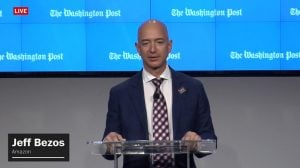 Jeff Bezos Won't Entirely Rule Out Running for President