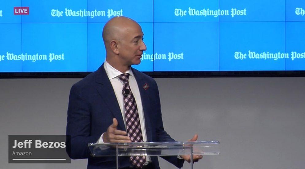 Jeff Bezos to Receive 0,000 Prize