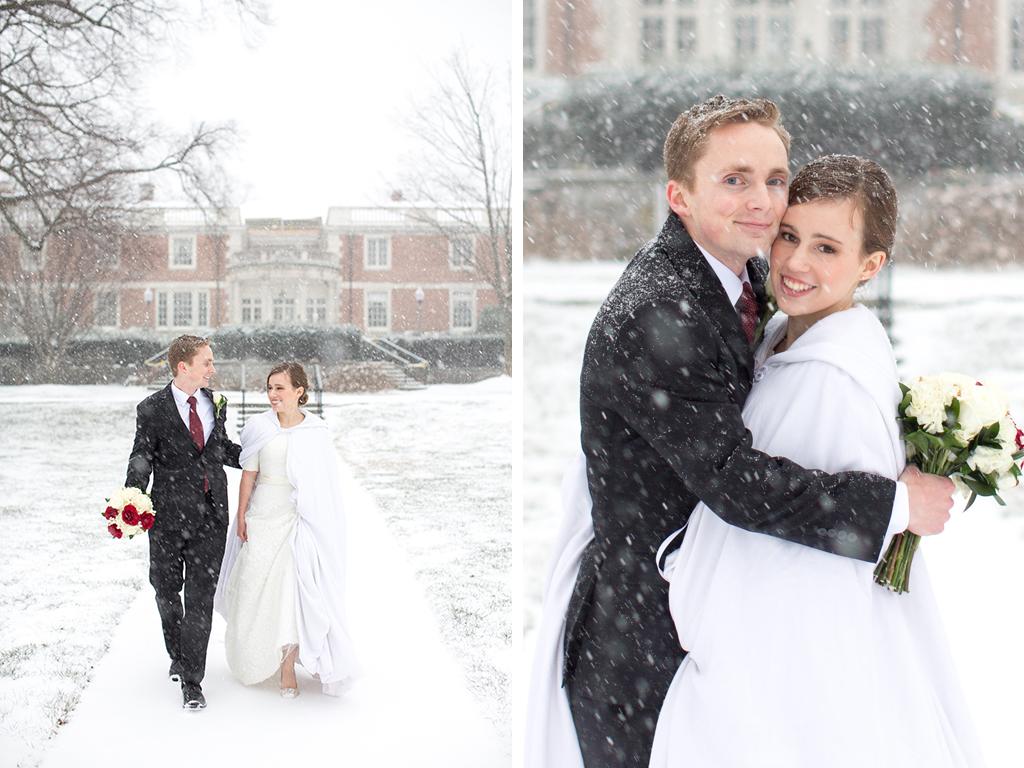 washington dc blizzard wedding jonas