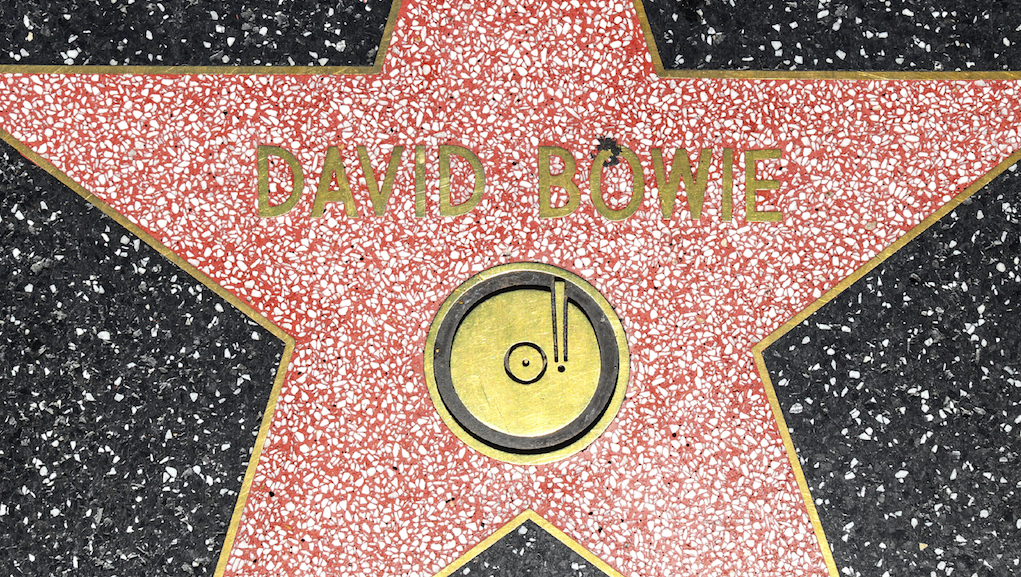 David Bowie Star in Hollywood