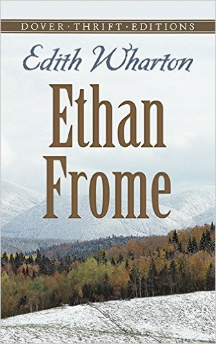 The cover for Ethan Frome.