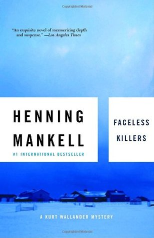 The cover for Faceless Killers.