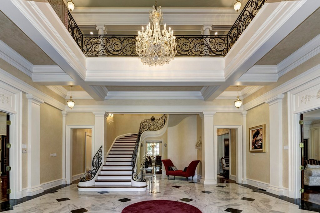 Here are the 10 most expensive houses sold in dc last year for High ceiling entryway