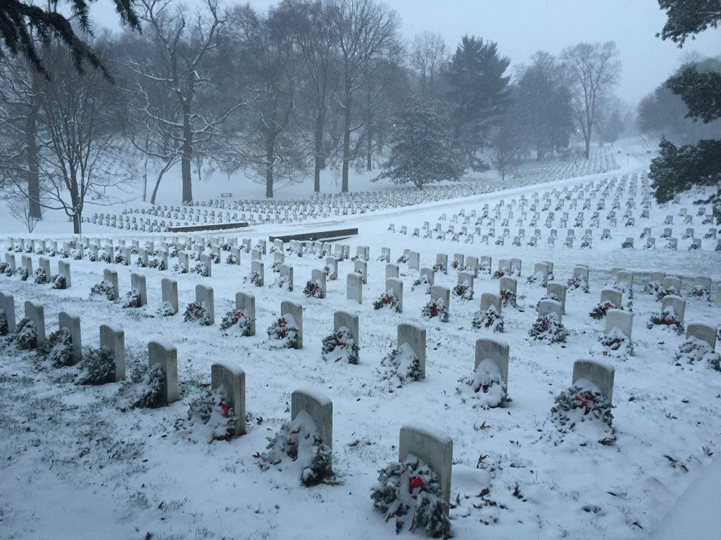 Arlington National Cemetery. Photograph courtesy of Tyler Hietpas.
