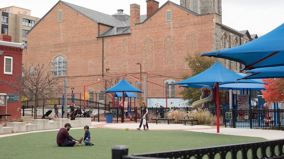 How a Benedictine Monk Saved Mary Force Stead Park From Becoming a Parking Lot