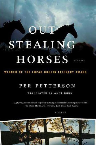 The cover for Out Stealing Horses.