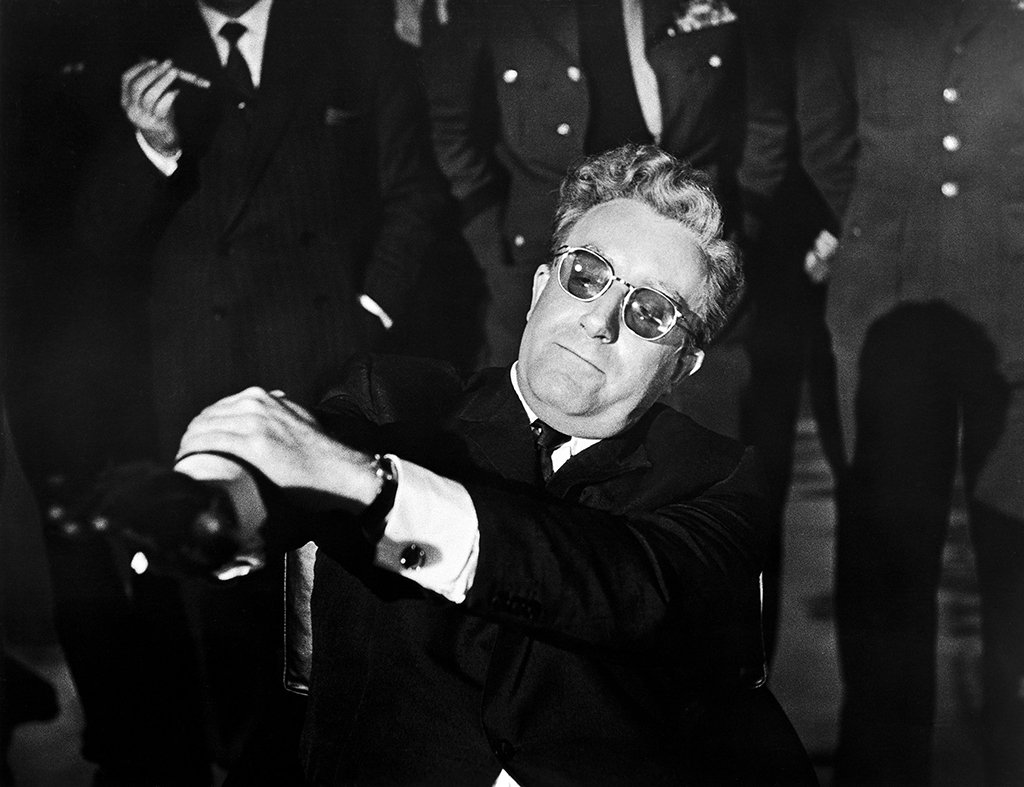 Photograph of Dr. Strangelove by AF Archive/Alamy