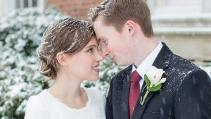 These People Just Got Married in This Crazy Blizzard