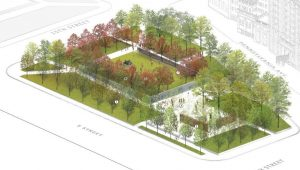 Here's How the World War I Memorial Will Change Pershing Park