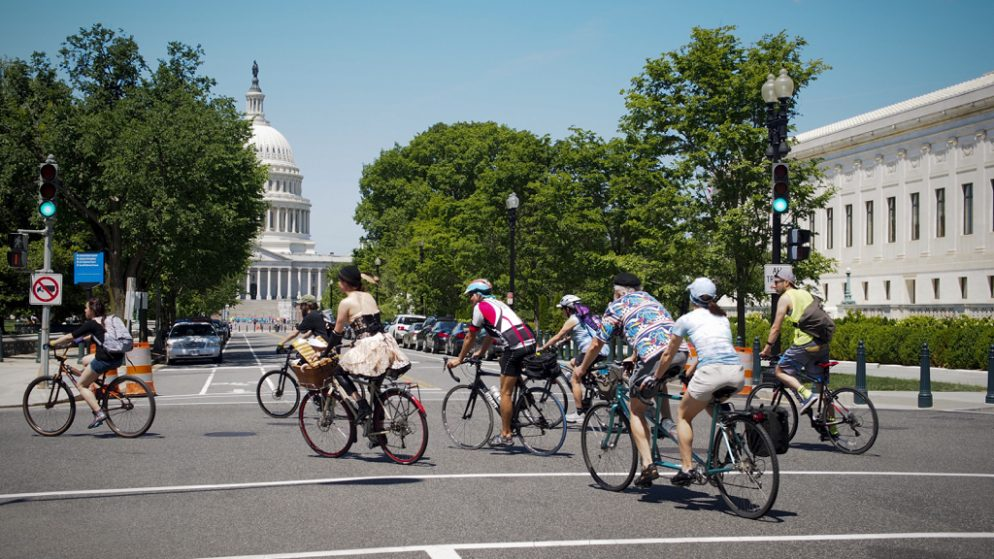 DC Will Close The Roads In May So Cyclists Can Ride - Dc roads