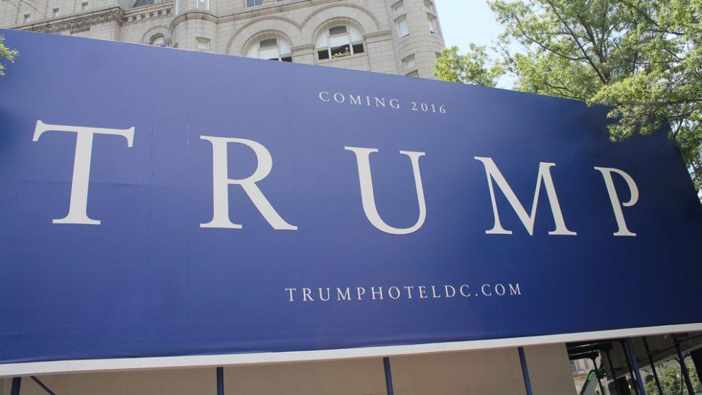 Donald Trump's Pennsylvania Avenue Hotel to Open in September