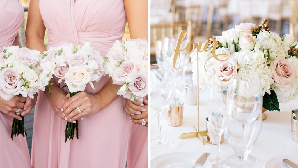 A Perfectly Pretty in Pink Wedding at Trump National Golf Club