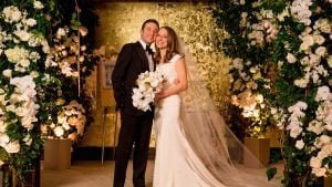 A DC Super-Couple Weds in a Flower-Filled Ceremony That Puts All Others to Shame