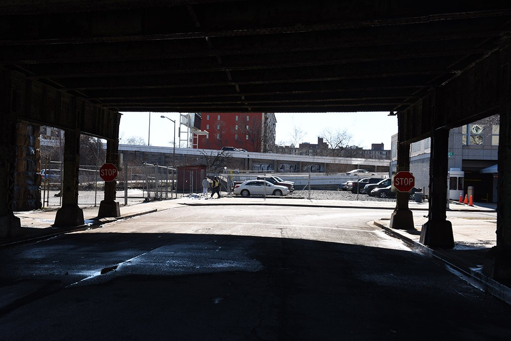 Rebuilding Southeast, DC: Virginia Avenue, near Second and E streets, Southwest. Photograph by Andrew Propp.