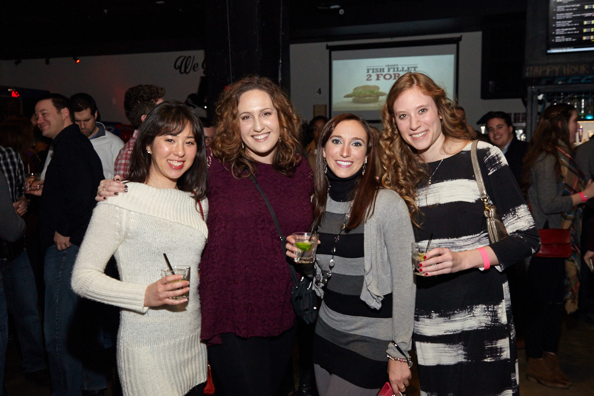 Julie Caplan, Liz Smith, Carissa E., and Katharina Theobald.