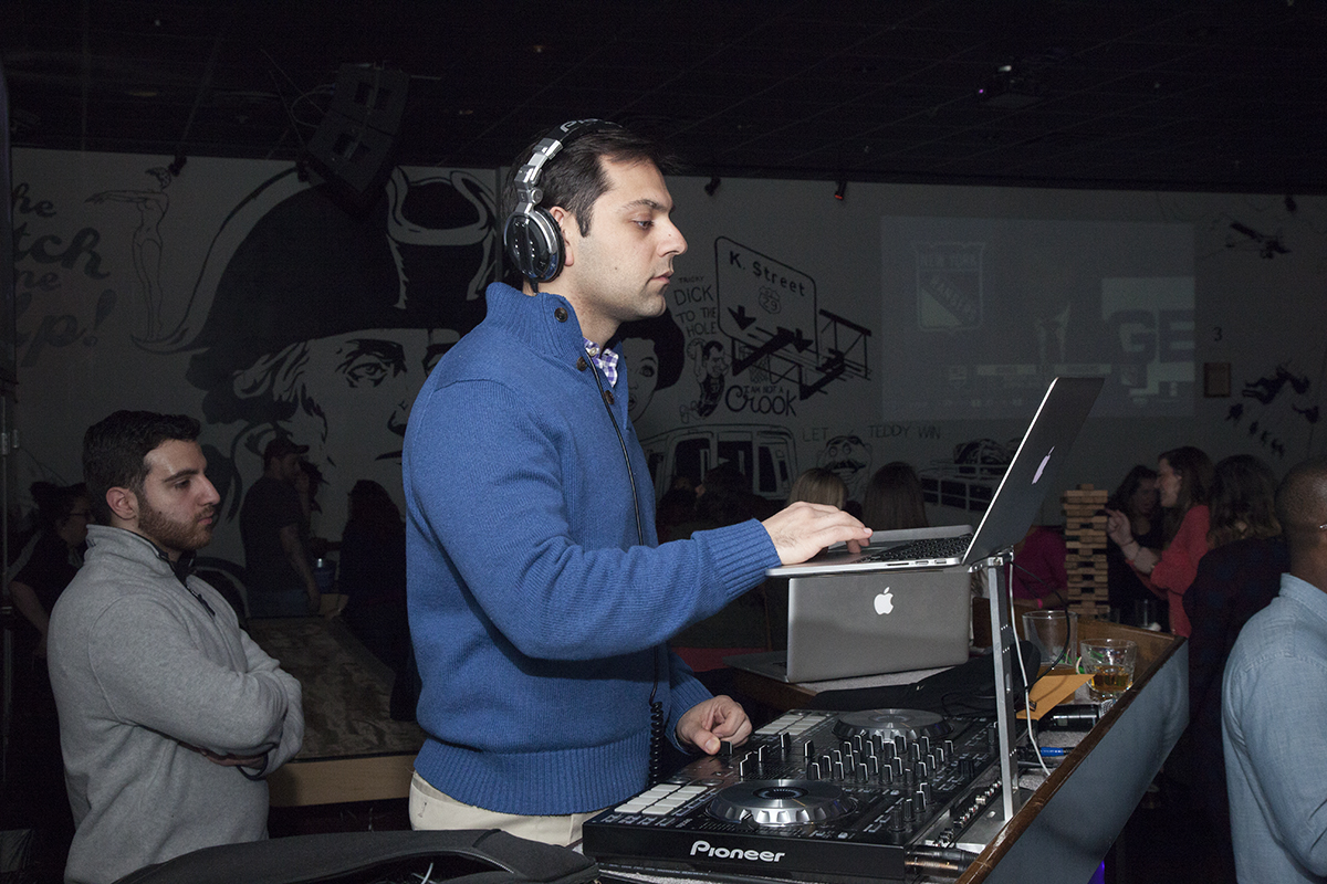 Guests enjoyed hit music by Exclusively Entertainment's DJ Pedram.