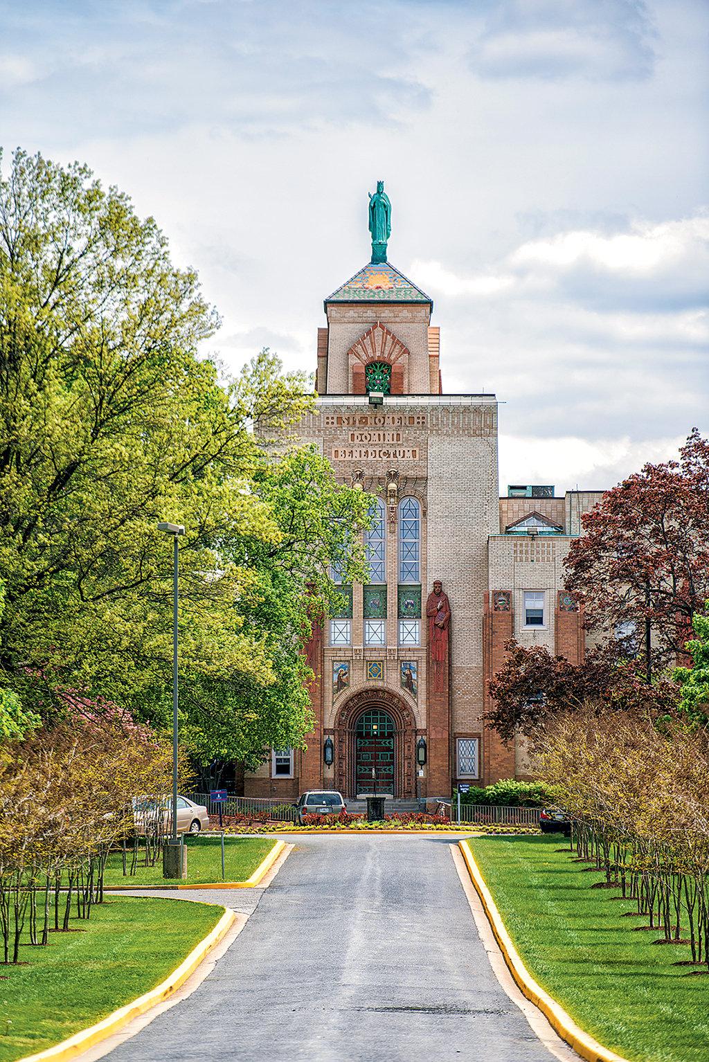 Photograph of Howard School of Divinity Courtesy of Howard U. Communications