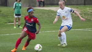 Washington Spirit's Crystal Dunn Scores 5 Goals in 81 Minutes