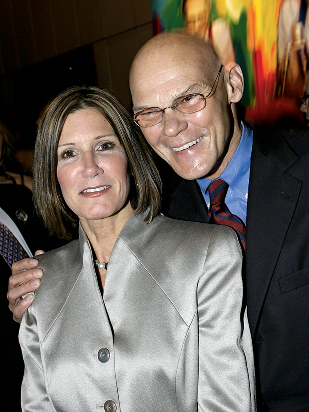 Photograph of Carville and Matalin by Stuart Ramson/AP Images