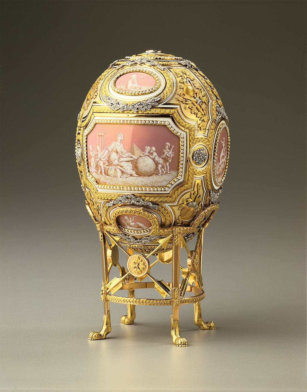 "Photograph of ""Catherine the Great Egg"" Courtesy of HIllwood Museum"