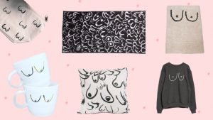 Boobs Boobs Boobs. Designers are Drawing Them All Over Home Decor Right Now. Here's Why.