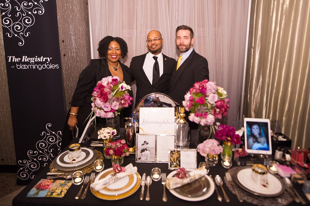 Bloomingdale's registry booth was a huge hit at this year's showcase.