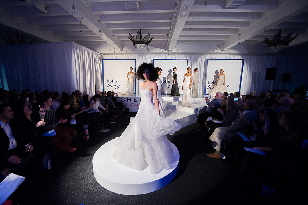 Hitched Bridal Couture showed off some of their favorite looks during the runway show.