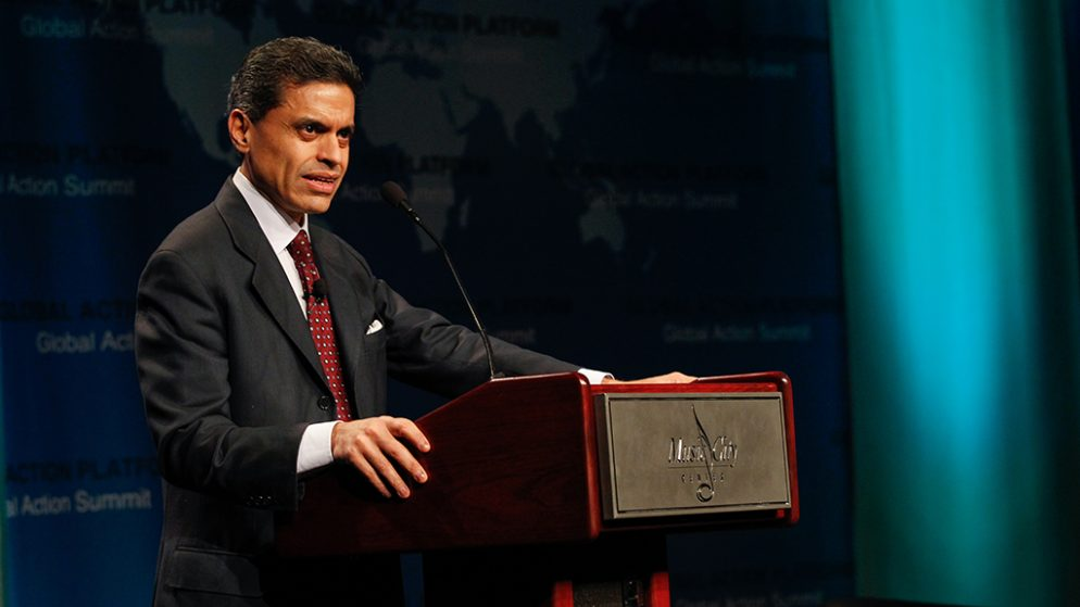 Blessed with powerful defenders and weak accusers, Fareed Zakaria has had to do little to defend his journalistic missteps.