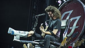 A History of Dave Grohl's Affinity For Drinking Out of Disposable Cups